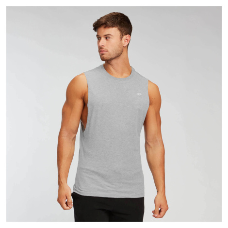 MP Men's Essentials Drop Armhole Tank - Classic Grey Marl