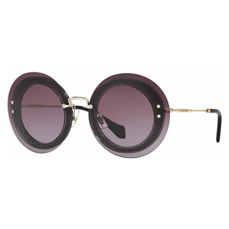 Miu Miu Woman MU 10RS - Frame color: Violet, Lens color: Violet, Size 64-17/140