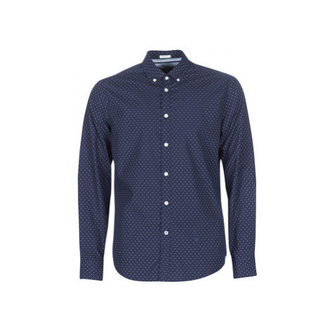 Pepe jeans DAVON men's Long sleeved Shirt in Blue