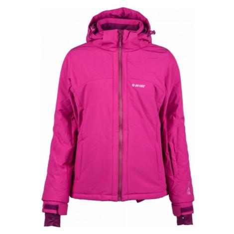 Hi-Tec LADY AZALEA pink - Women's skiing jacket