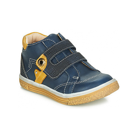 Catimini BICHOU boys's Children's Shoes (High-top Trainers) in Blue