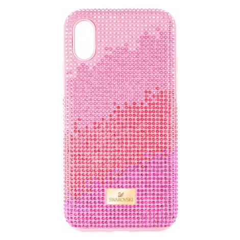 High Love Smartphone Case with Bumper, iPhone® XR, Pink Swarovski