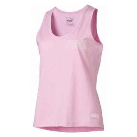 Puma ATHLETICS TANK pink - Women's T-shirt