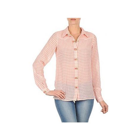 Manoush CHEMISE ML ALIZE women's Shirt in Pink