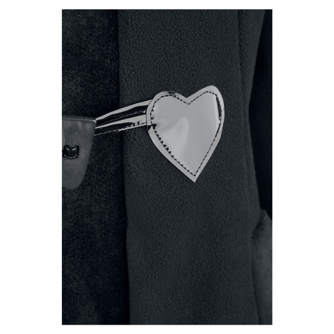 Poizen Industries - Minx Coat - Girls coat - black