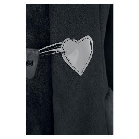 Poizen Industries Minx Coat Winter Coat black