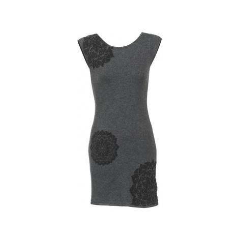 Desigual BALDINA women's Dress in Grey