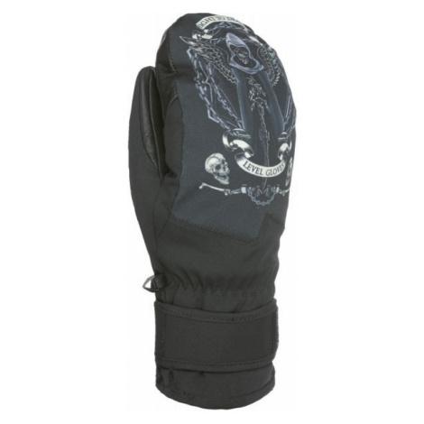 Level SPACE MITT black - Men's snowboard gloves
