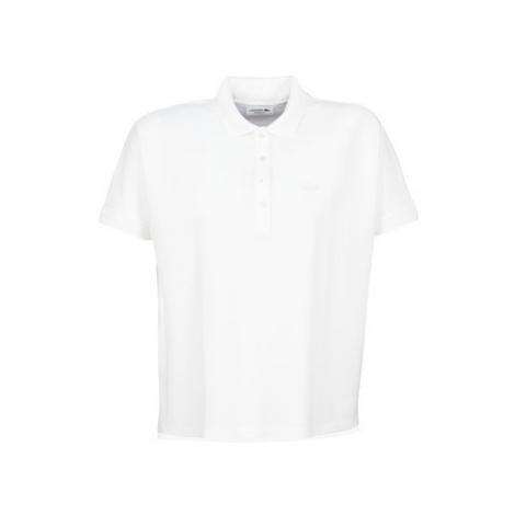 Lacoste PF0103 women's Polo shirt in White