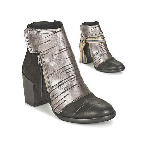Felmini CARMEN women's Low Ankle Boots in Silver