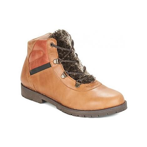 Citrouille et Compagnie JODILAEM boys's Children's Mid Boots in Brown