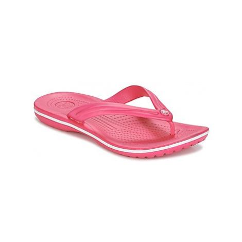 Crocs CROCBAND FLIP women's Flip flops / Sandals (Shoes) in Pink