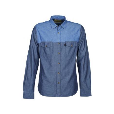 Chevignon CL TINTO men's Long sleeved Shirt in Blue
