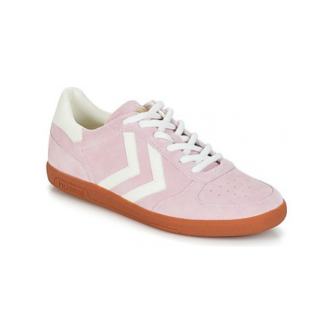 Hummel VICTORY women's Shoes (Trainers) in Pink