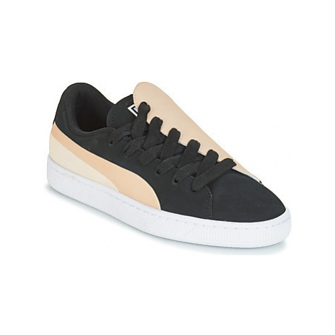 Puma WN BASKET CRUSH PARIS.SILV women's Shoes (Trainers) in Black