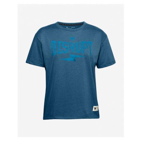 Under Armour Project Rock Disrupt T-shirt Blue
