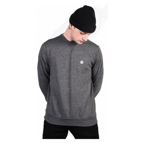 sweatshirt Element Cornell Classic Crew - Charcoal Heather - men´s