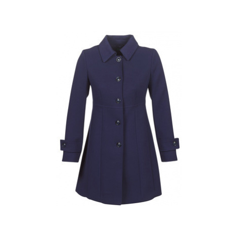 Benetton STITO women's Coat in Blue United Colors of Benetton