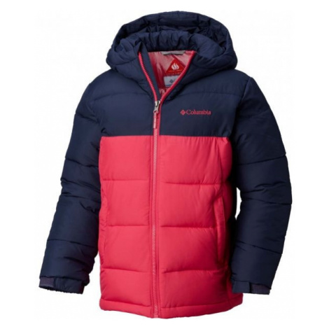 Columbia PIKE LAKE JACKET pink - Kids' winter jacket