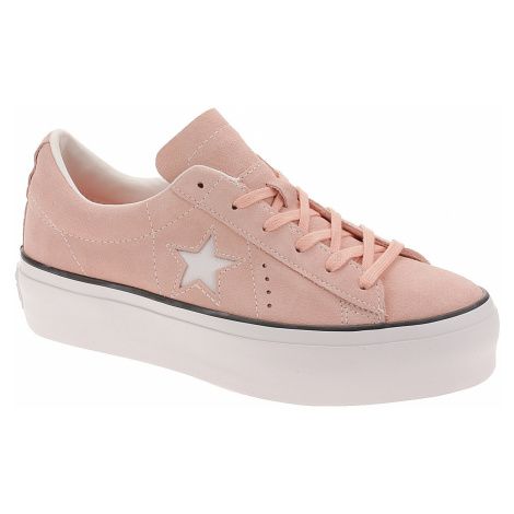 shoes Converse One Star Platform OX - 564382/Bleached Coral/Black/White - women´s