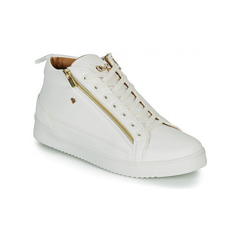 Cash Money CMS98-BEE men's Shoes (High-top Trainers) in White