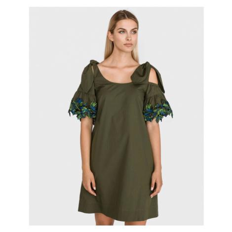 Pinko Alaina Dress Green