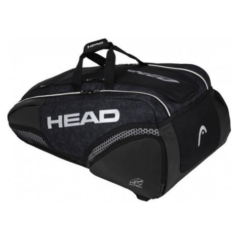 Head DJOKOVIC 12R MONSTERCOMBI black - Tennis backpack
