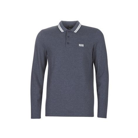 BOSS PLISY men's Polo shirt in Blue Hugo Boss
