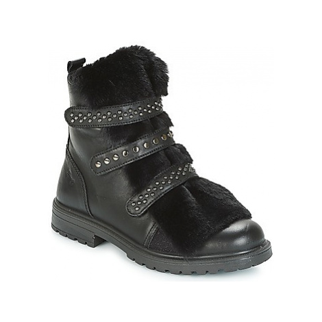 Primigi CHRIS girls's Children's Mid Boots in Black