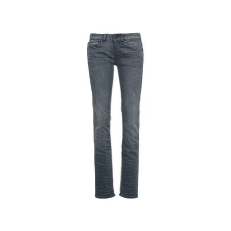 G-Star Raw ATTACC MID STRAIGHT women's Jeans in Grey