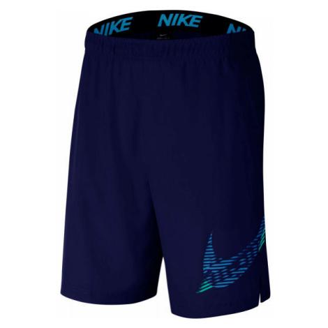 Nike FLX 2.0 GFX1 M green - Men's training shorts