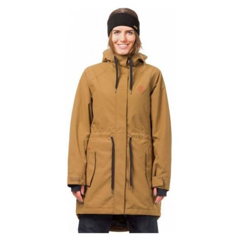Horsefeathers POPPY JACKET brown - Women's ski/snowboard jacket