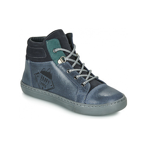 Citrouille et Compagnie LEKITO boys's Children's Mid Boots in Blue