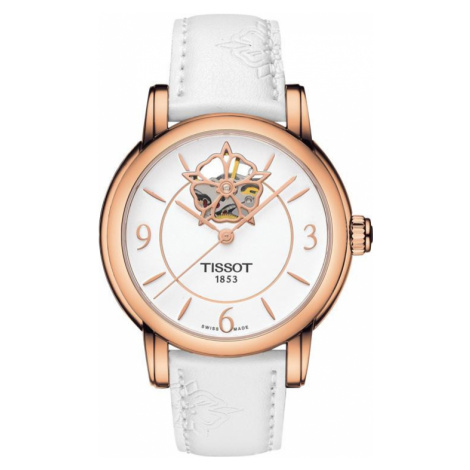 Tissot Watch T-Classic Powermatic 80 Heart Flower Ladies