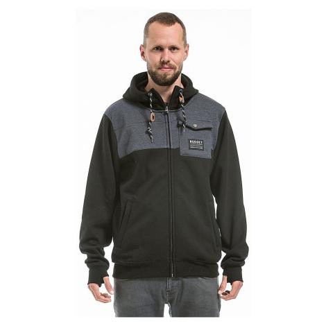 sweatshirt Nugget Coil 2 Zip - D/Black/Heather Charcoal