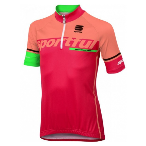 Sportful SC TEAM KID JERSEY pink - Children's jersey