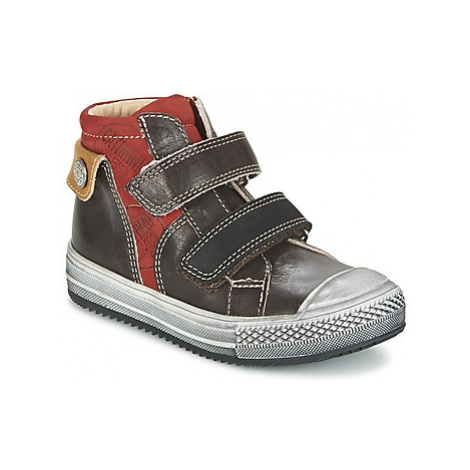 Catimini ARLEQUIN boys's Children's Shoes (High-top Trainers) in Brown