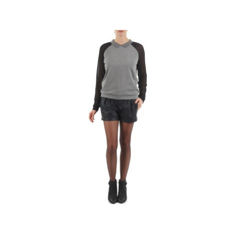 Esprit PERFORATED SHORT women's Shorts in Black