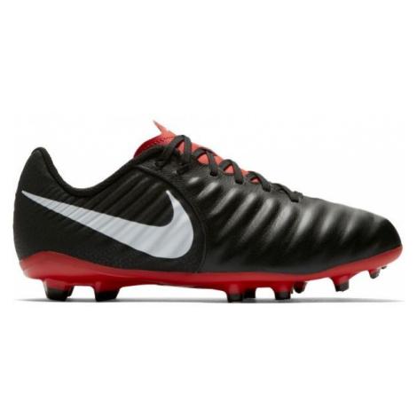 Nike JR LEGEND 7 ACADEMY MG black - Kids' football boots