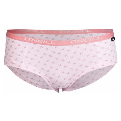 O'Neill HIPSTER WITH DESIGN 2-PACK light pink - Women's underpants