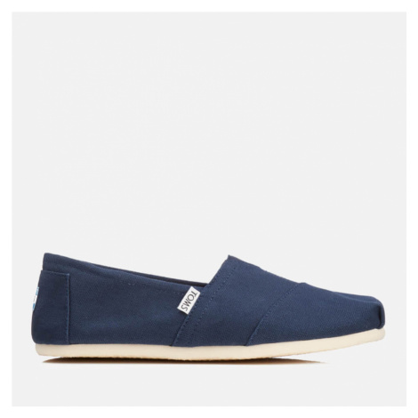 TOMS Men's Core Classics Slip-On Pumps - Navy Canvas - UK 7/US 8