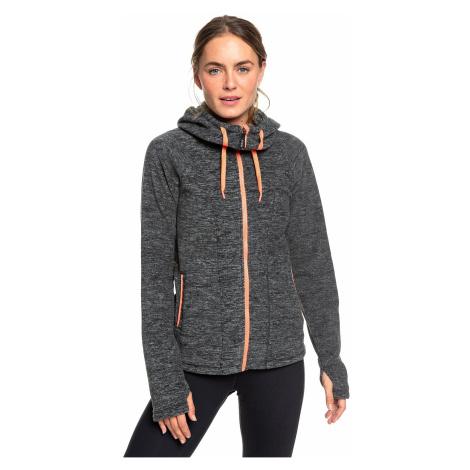 sweatshirt Roxy Electric Feeling 3 Zip - KTE1/Charcoal Heather - women´s