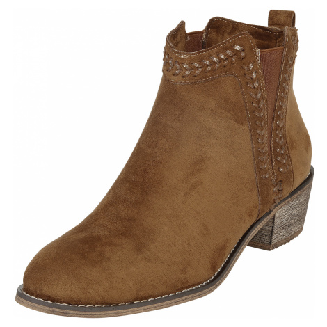 Refresh - Cow Girl - Boots - camel