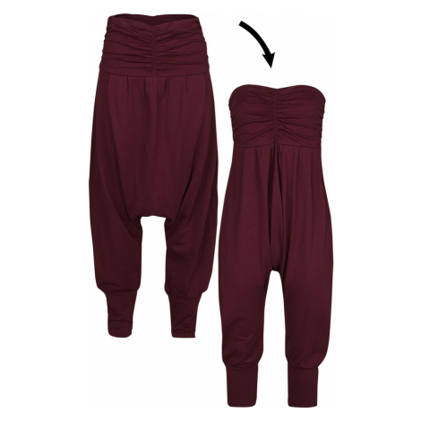 RED by EMP Jump In And Relax Cloth Trousers burgundy