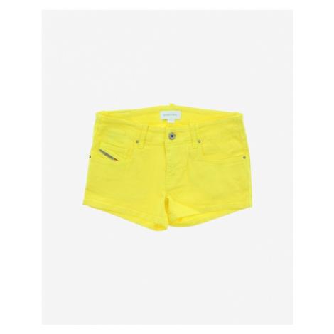 Diesel Kids Shorts Yellow