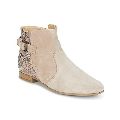 Geox MARLYNA G women's Low Ankle Boots in Beige