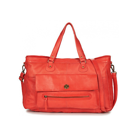 Pieces PCTOTALLY TRAVEL women's Shoulder Bag in Red