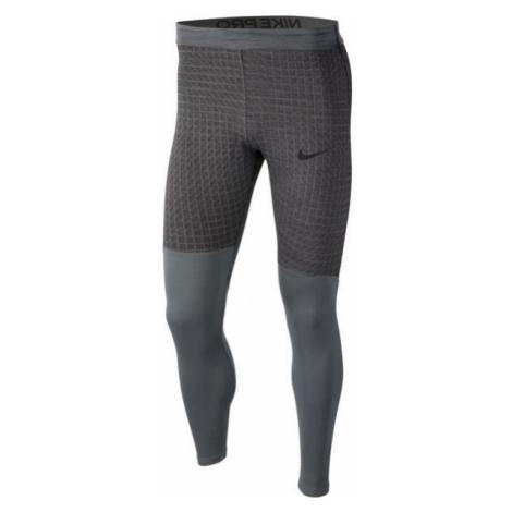 Nike NP TGHT LS UTILITY THRMA M grey - Men's tights