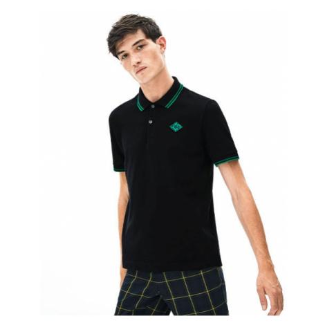 Lacoste S S/S POLO black - Men's polo shirt