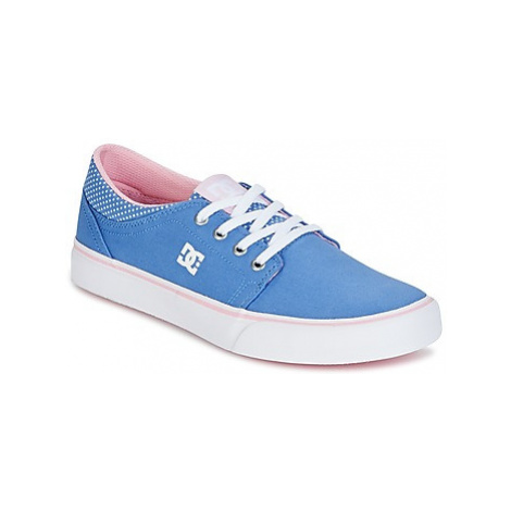 DC Shoes TRASE TX SE girls's Children's Shoes (Trainers) in Blue